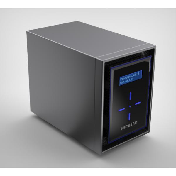 Netgear ReadyNAS 422 NAS Collegamento ethernet LAN Nero C3338