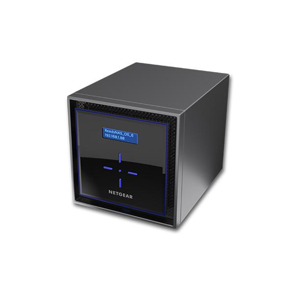 Netgear ReadyNAS 424 C3338 Collegamento ethernet LAN Nero NAS