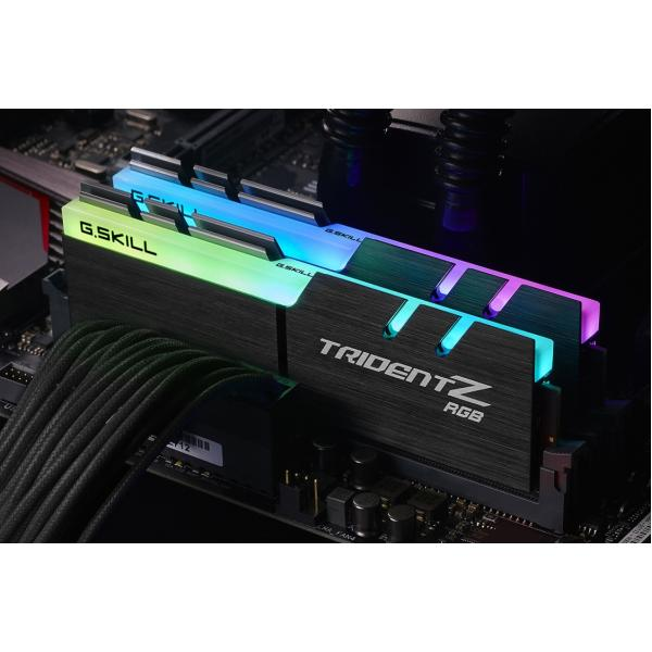 16GB (2x8GB) G.Skill Trident Z RGB DDR4-3200 CL16 (16-18-18-38) DIMM RAM Kit