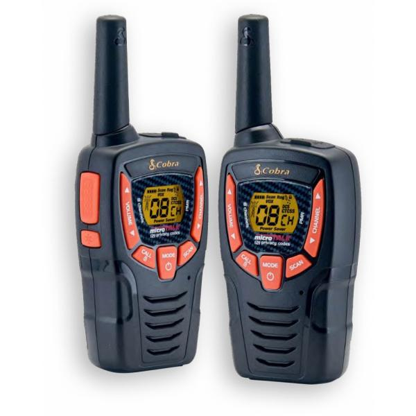 Insmat AM-645 PMR ricetrasmittente 8 canali 446.00625 - 446.09375 MHz Nero, Arancione