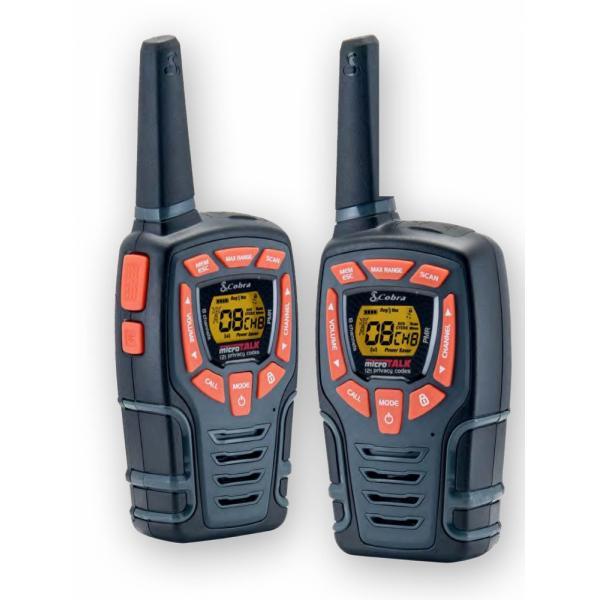Insmat AM-845 PMR ricetrasmittente 8 canali 446.00625 - 446.09375 MHz Nero, Arancione