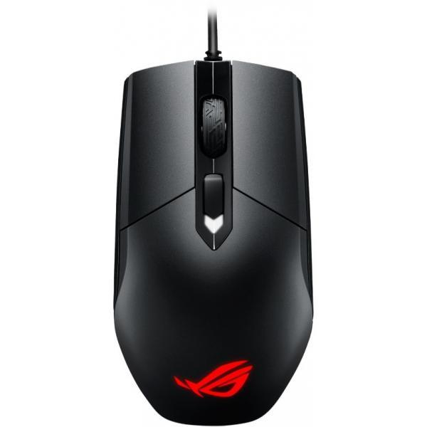 ASUS ROG Strix Impact mouse USB tipo A Ottico 5000 DPI Ambidestro