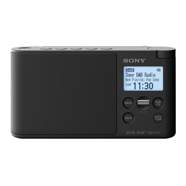 RADIO DIGITALE DAB/DAB+/FM DISP.LCD NERO