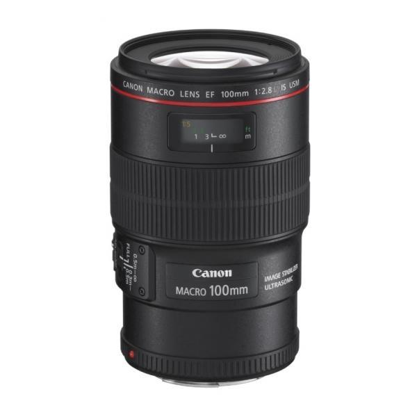 Canon EF 100mm f/2.8L Macro IS USM SLR Macro lens Nero 4960999635170 3554B005 08_3554B005