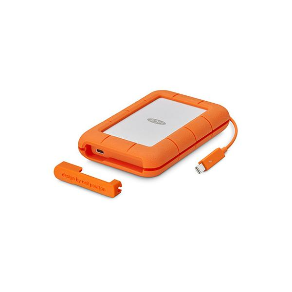 SEAGATE - LACIE EXTERNAL MOBILE 5TB RUGGED 2.5 IN THB+USB C 3.1 THB / USB-C / C TO A CABLES INCL IN