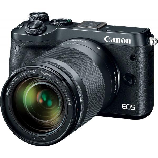 Canon EOS M6 + EF-M 18-150mm 1:3.5-6.3 IS STM MILC 24.2MP CMOS 6000 x 4000Pixel Nero 4549292084511 1724C022 04_90685339