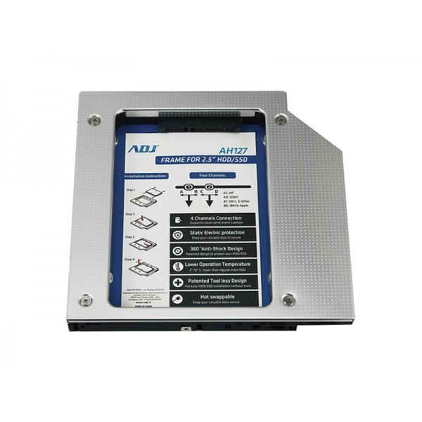 Adj 120-00023 Notebook HDD/SSD caddy accessori per notebook 8058773832214 120-00023 10_1W00250