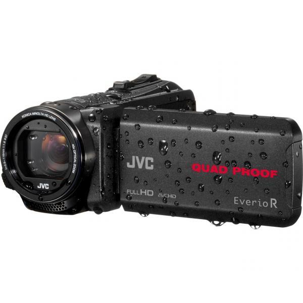 JVC GZ-R430BEU Videocamera palmare 10MP CMOS Full HD Nero 4975769447167 GZ-R430BEU TP2_GZ-R430BEU