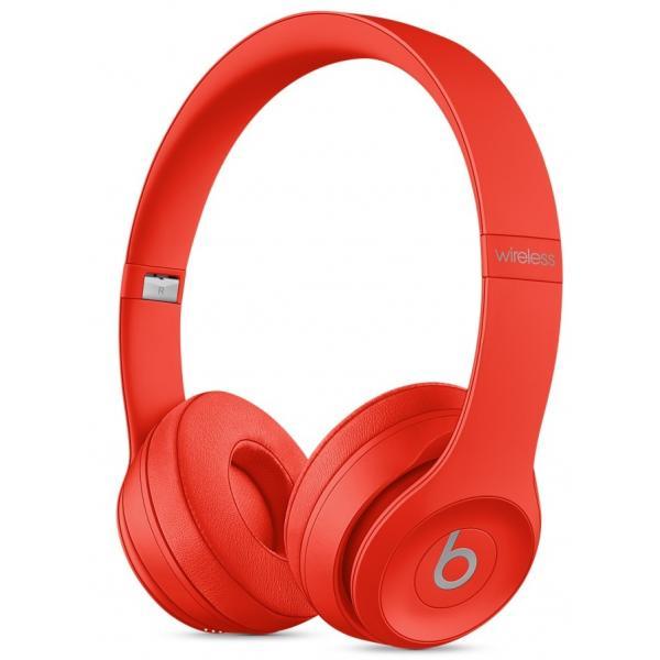 Beats by Dr. Dre Beats Solo3 Wireless Padiglione auricolare Stereofonico Cablato/Bluetooth Rosso auricolare per telefono cellulare 0190198217585 MP162ZM/A TP2_MP162ZM/A