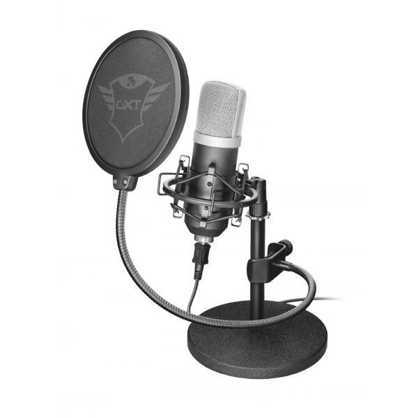 Trust 21753 Studio microphone Cablato Nero microfono 8713439217537 21753 TP2_21753-TRS