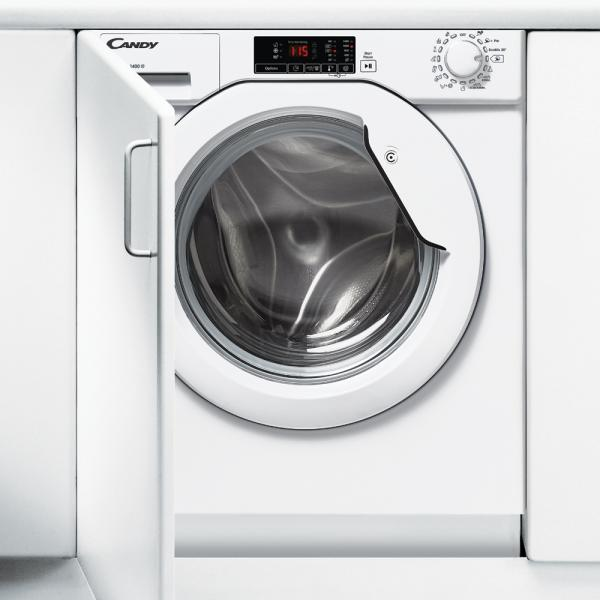 Candy CBWM 814D-S Incasso Caricamento frontale 8kg 1400Giri/min A+++ Bianco lavatrice 8016361931268 31800240 08_31800240