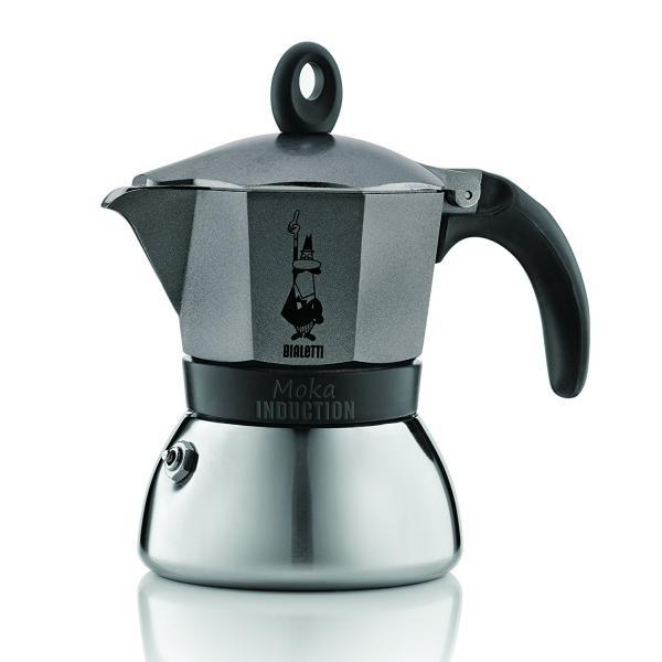 BIALETTI CAFFETTIERA IND. NERA 6TZ