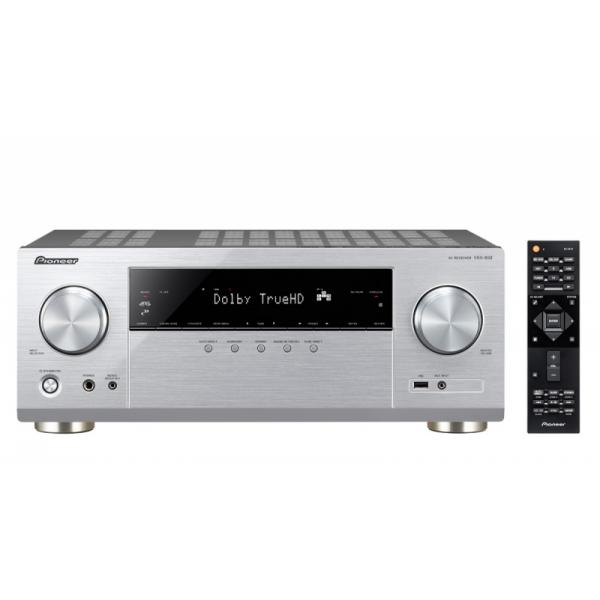 Pioneer VSX-832 130W 5.1canali Surround Compatibilità 3D Argento ricevitore AV 4573211152548 VSX-832-S 04_90690694