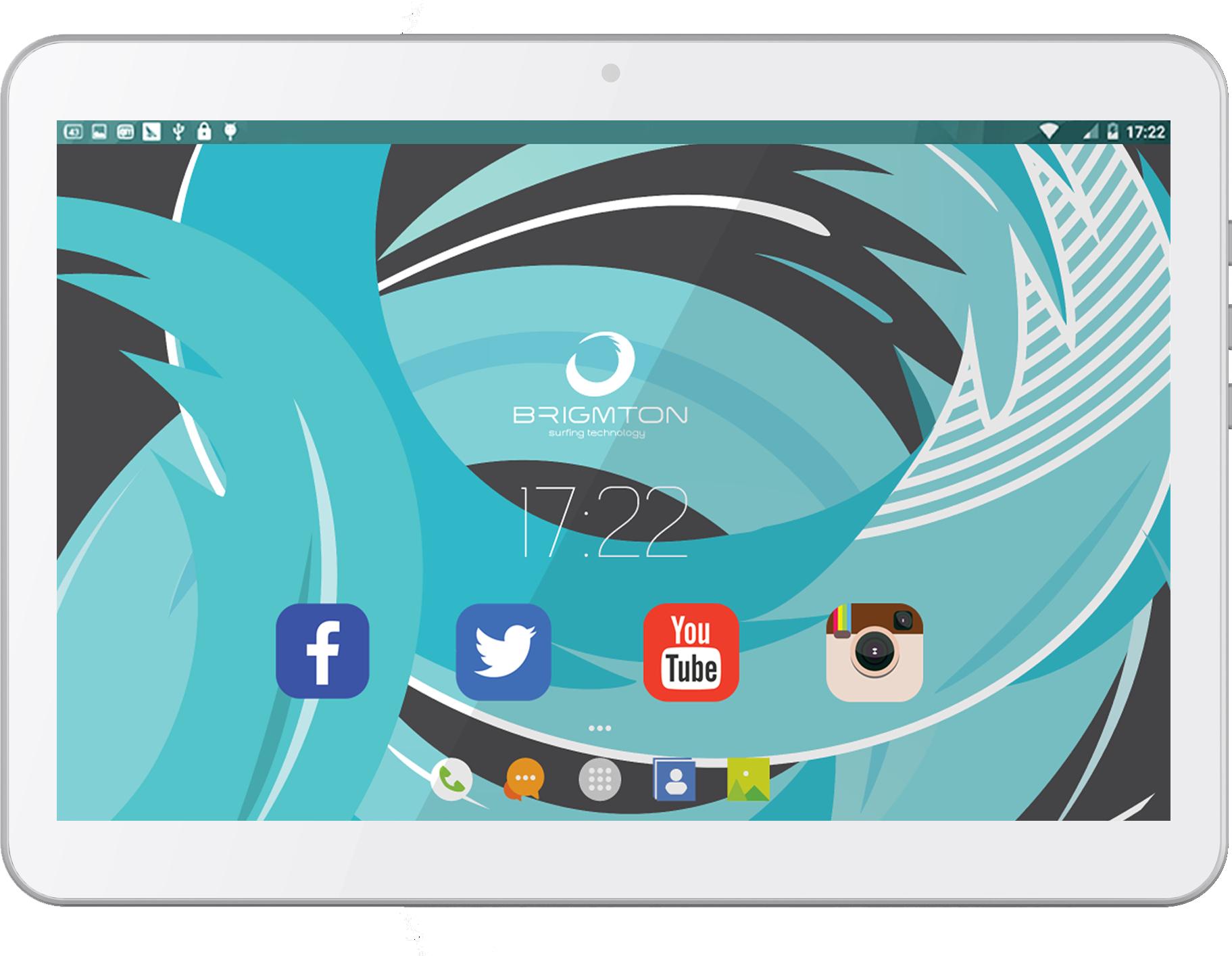 Brigmton BTPC-1021QC3G 16GB 3G Bianco tablet 8425081017006  02_S0402584