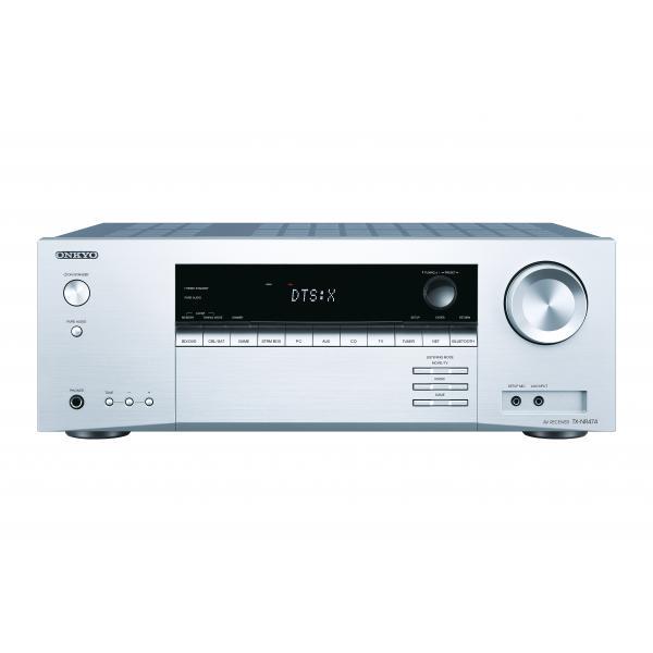 ONKYO TX-NR474 5.1canali Surround Compatibilità 3D Argento ricevitore AV 4573211152524  04_90695048