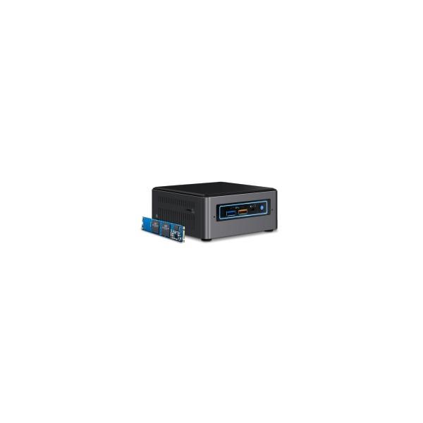 Intel NUC NUC7I5BNHX1 2.2GHz i5-7260U Nero, Grigio 5032037101318 BOXNUC7I5BNHX1 10_1358443