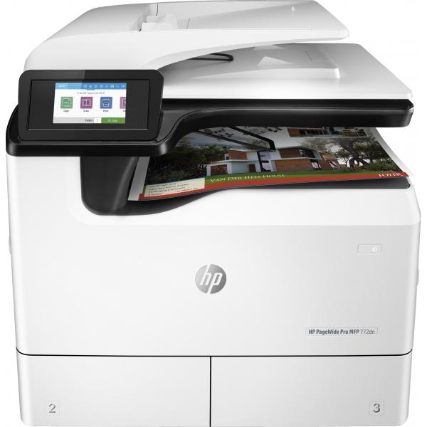 HP PageWide Pro MFP 772dn Printer Europe - Multilingual Localization, EUR/ME - Y3Z54B#B19