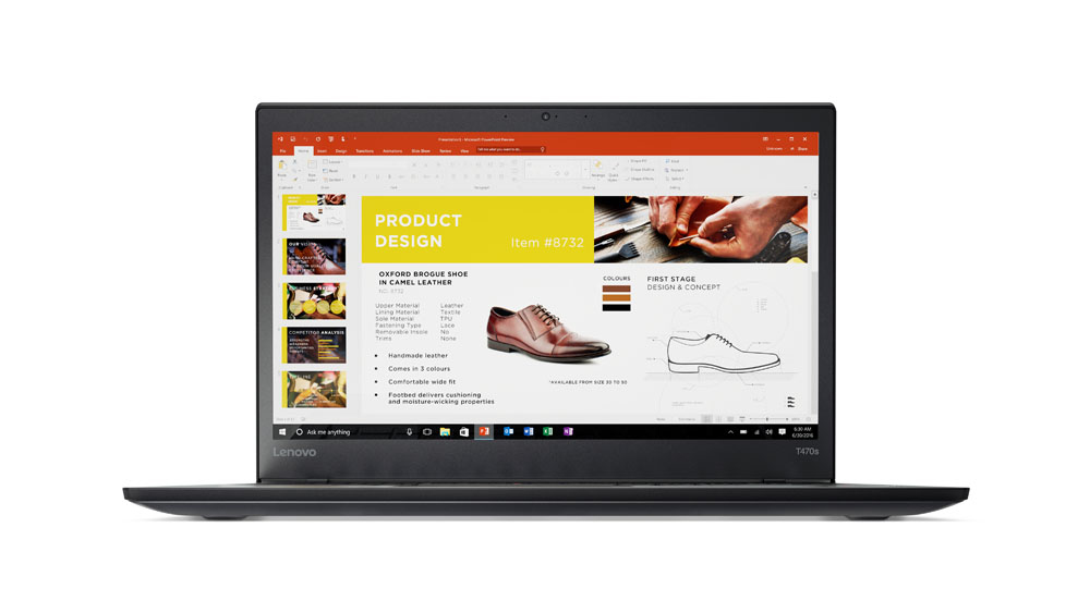 Lenovo ThinkPad T470s 2.50GHz i5-7200U 14