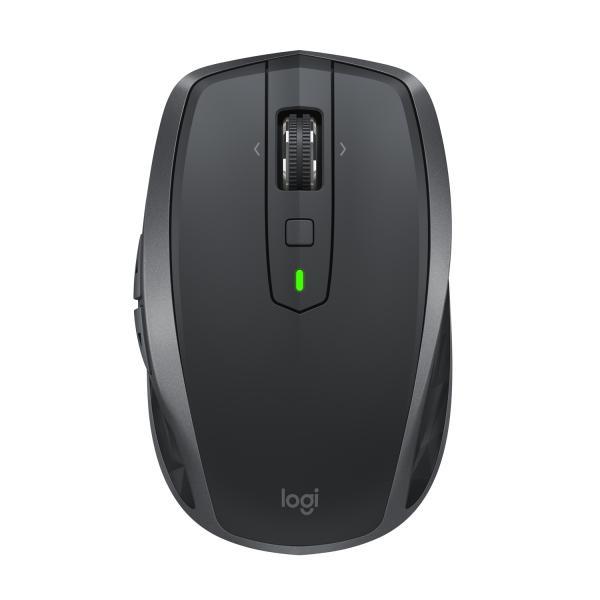 Logitech MX Anywhere 2S Wireless a RF + Bluetooth 4000DPI Mano destra Nero, Grigio mouse 5099206073050 910-005153 03_910-005153