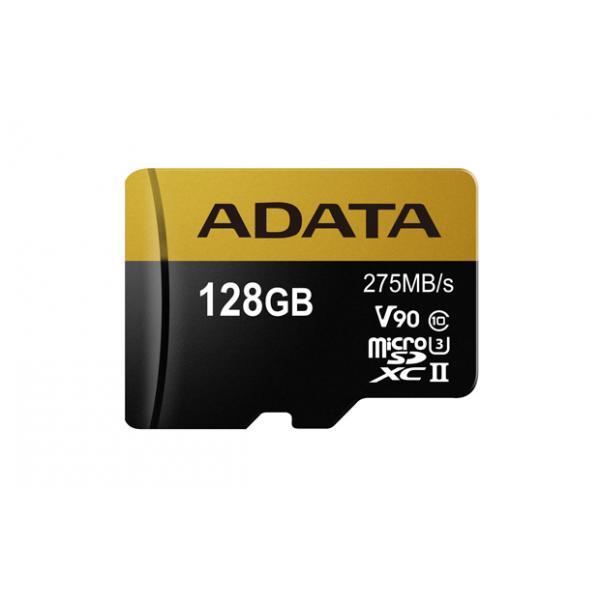 ADATA Premier ONE V90 128GB MicroSDXC UHS-II Classe 10 memoria flash 5-6gg Lavorativi (da Ordinare)