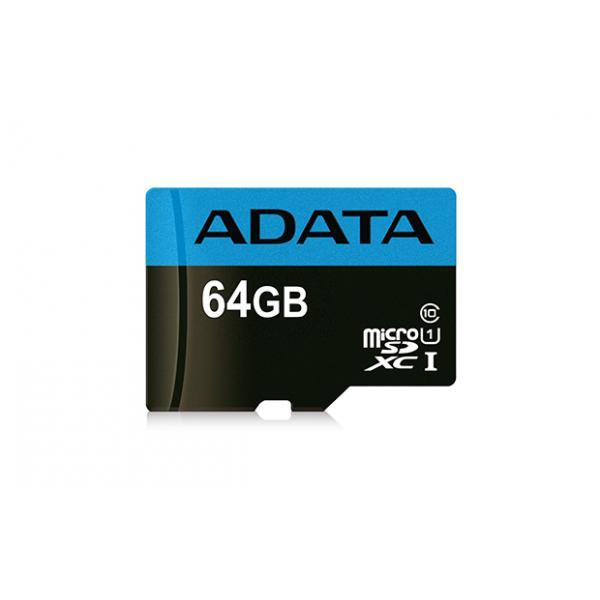 ADATA Premier 64GB MicroSDXC UHS-I Classe 10 memoria flash 5-6gg Lavorativi (da Ordinare)