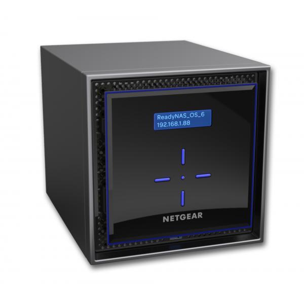 Netgear ReadyNAS 424 C3338 Collegamento ethernet LAN Desktop Nero NAS