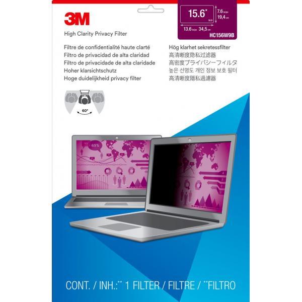 """3M Filtro High Clarity Privacy oro per laptop widescreen da 15,6"""""""