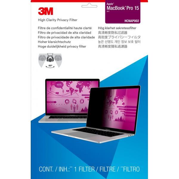 """3M Filtro Privacy High Clarity da Apple® MacBook Pro® da 15"""" (2016)"""