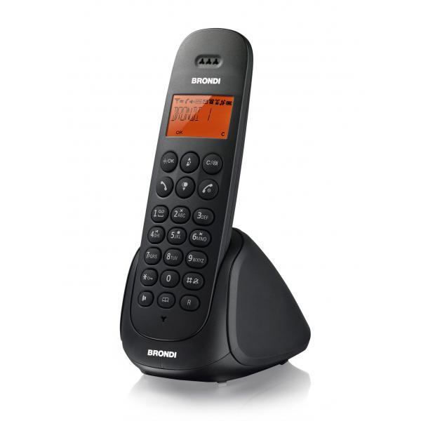miniatura 2 - BRONDI ADARA TELEFONO CORDLESS SB ECO DECT CON SEGRETERIA TELEFONICA BLACK