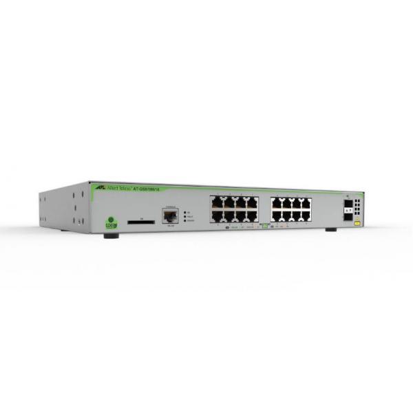 Allied Telesis AT-GS970M/18-50 Gestito L3 Gigabit Ethernet (10/100/1000) 1U Grigio