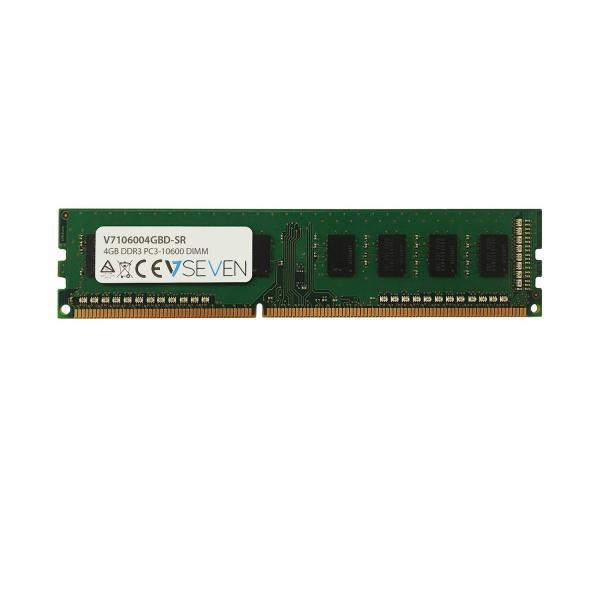 V7 4GB DDR3 PC3-10600 1333MHZ DIMM Modulo di memoria - V7106004GBD-SR 5050914992187 V7106004GBD-SR 10_J153822
