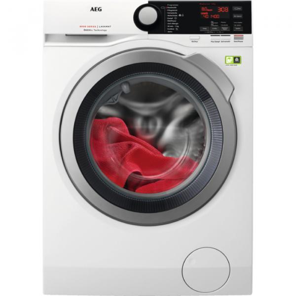 AEG L8FB74484W Libera installazione Carica frontale 8kg 1400Giri/min A+++ Bianco lavatrice 7332543521876 914550204 04_90680419