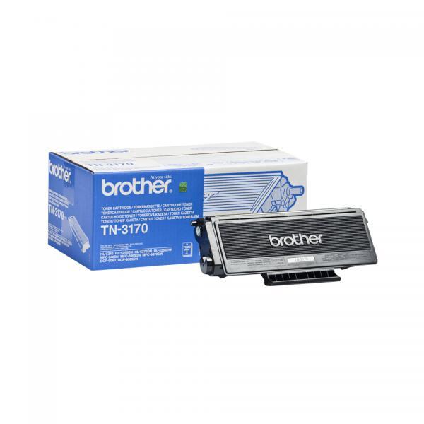 Brother TN-3170 7000pagine Nero cartuccia toner e laser 4977766636612 TN3170 10_5831801