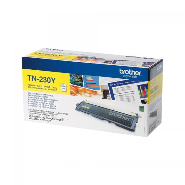 Brother TN-230Y Laser cartridge 1400pagine Giallo cartuccia toner e laser 4977766666961 TN-230Y 14_TN230Y