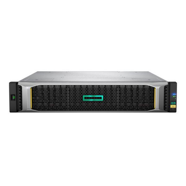 Hewlett Packard Enterprise MSA 2052 SAN Dual Controller LFF Armadio (2U) Nero, Argento array di dischi  Q1J02A 08_Q1J02A