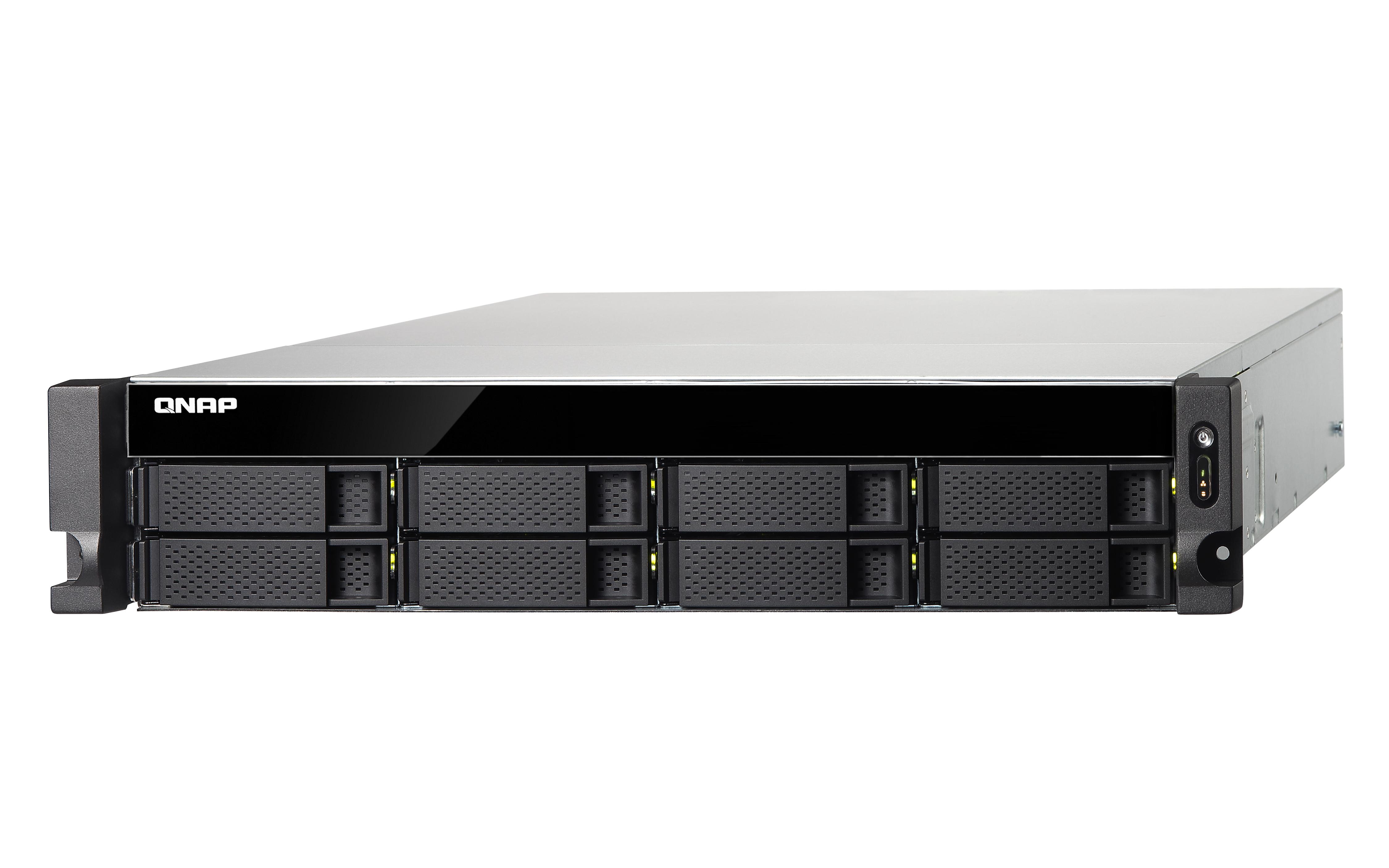 QNAP TS-853BU NAS Armadio (2U) Collegamento ethernet LAN Nero 4713213511541 TS-853BU-4G 10_Y992932
