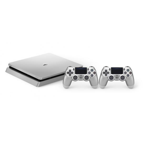 Sony Playstation 4 Slim 500GB 500GB Wi-Fi Argento 0711719849063 9849063 TP2_9849063