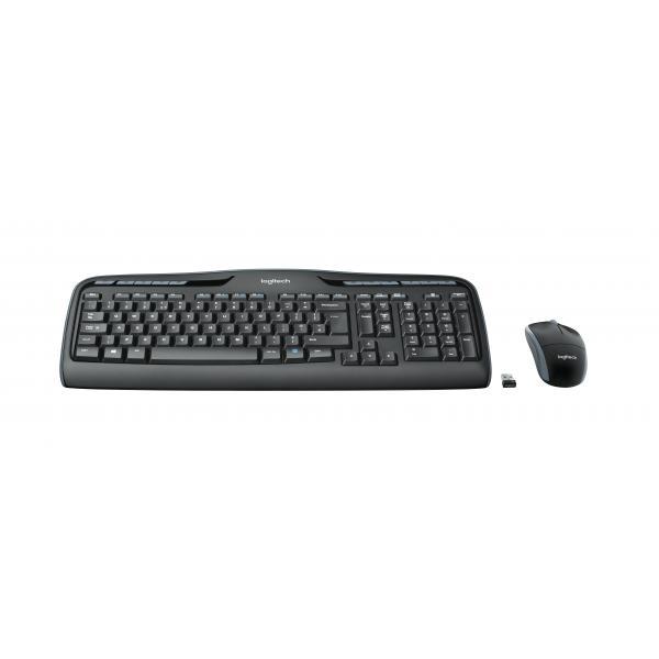Logitech MK330 RF Wireless QWERTZ Tedesco Nero tastiera 5099206073173 920-008533 10_222B036