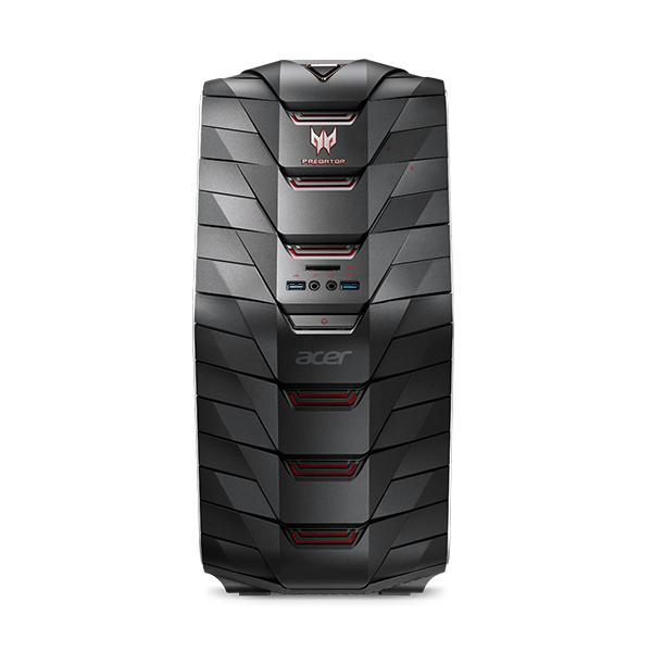 Acer Predator G6-710 4.2GHz i7-7700K Nero, Rosso PC 4713883011716 DG.E09ET.002 10_865BS31