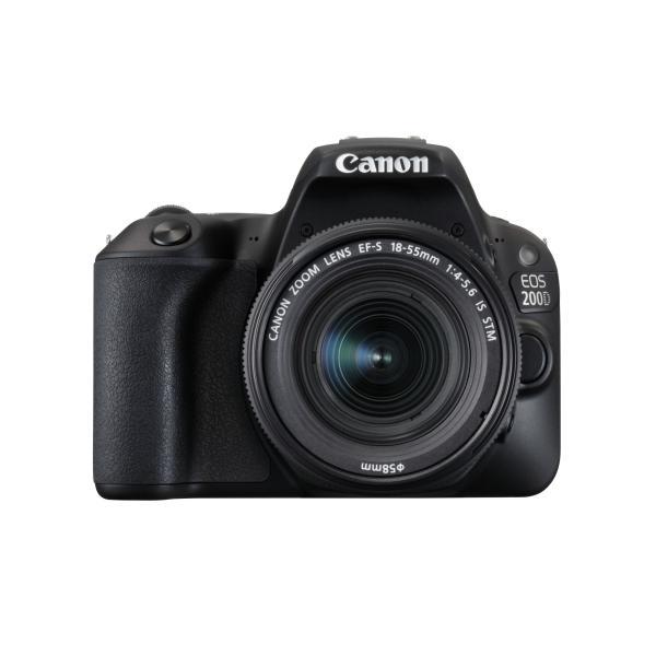 Canon EOS 200D + EF-S 18-55mm 4.0-5.6 IS STM Kit fotocamere SLR 24.2MP CMOS 6000 x 4000Pixel Nero 4549292091335 2250C002 08_2250C002
