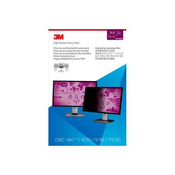 3M Filtro High Clarity Privacy per monitor widescreen da 21,5