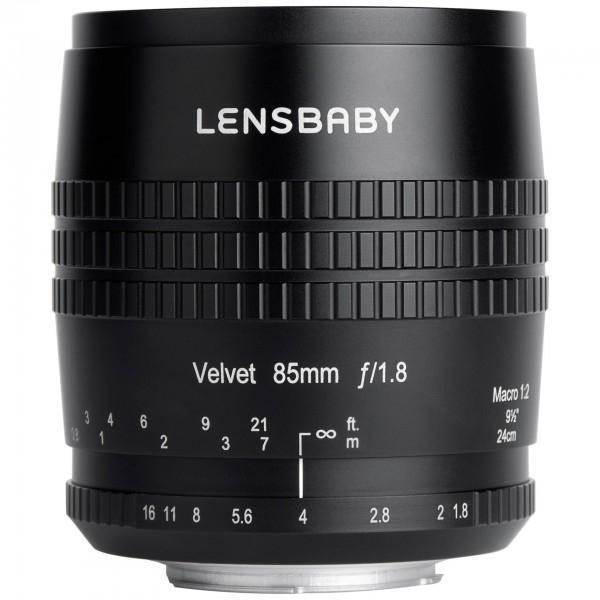 Lensbaby LBV85C obiettivo per fotocamera MILC/SRL Obiettivi macro Nero