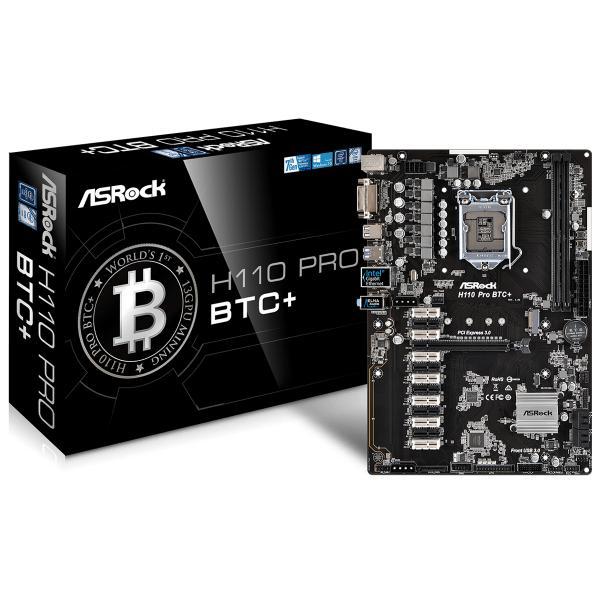 Asrock H110 Pro BTC+ Intel® H110 LGA 1151 (Presa H4) ATX