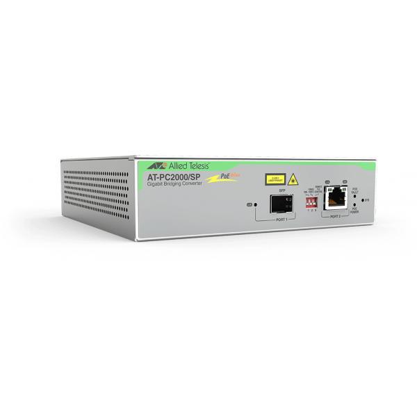 Allied Telesis AT-PC2000/SP-60 convertitore multimediale di rete 1000 Mbit/s 850 nm Grigio