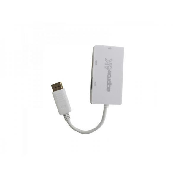 Approx appC37 Display Port HDMI, DVI, VGA Bianco cavo di interfaccia e adattatore 8435099522935  02_S0210373