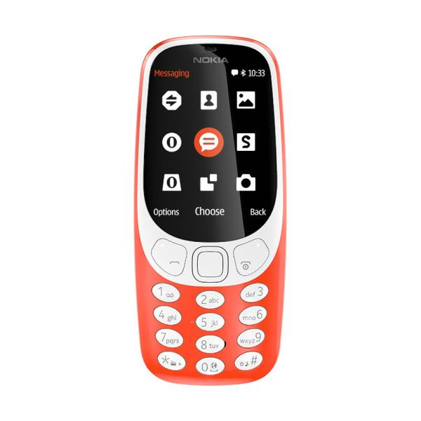 CELLULARE NOKIA 3310 A00028241 Warm Red 2,4