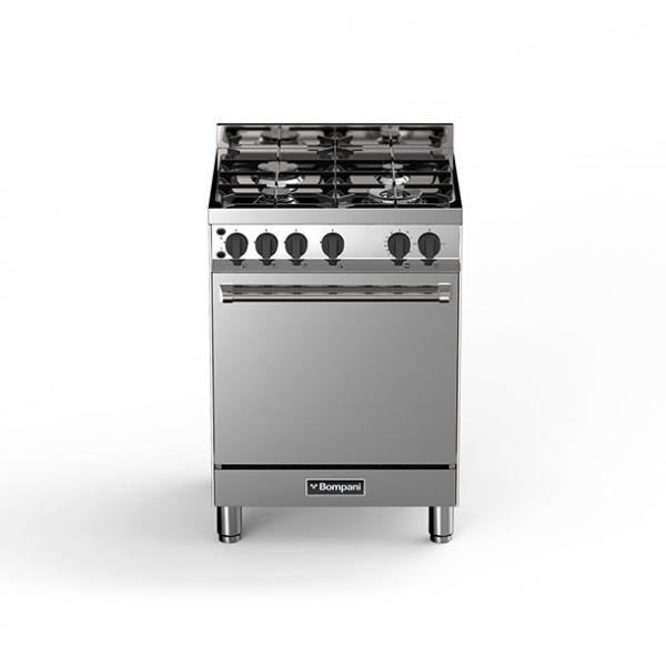Bompani BO613GB/N Piano cottura Gas Acciaio inossidabile cucina  BO613GB/N TP2_BO613GB/N
