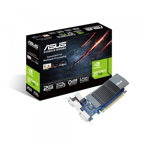 SVGA ASUS NVIDIA GT710 2GB DDR5 64Bit DVI PCI-E 2.0