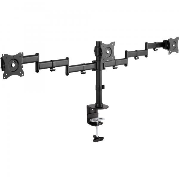InLine Supporto da tavolo per 3x TFT/LCD/LED fino a 68cm (27