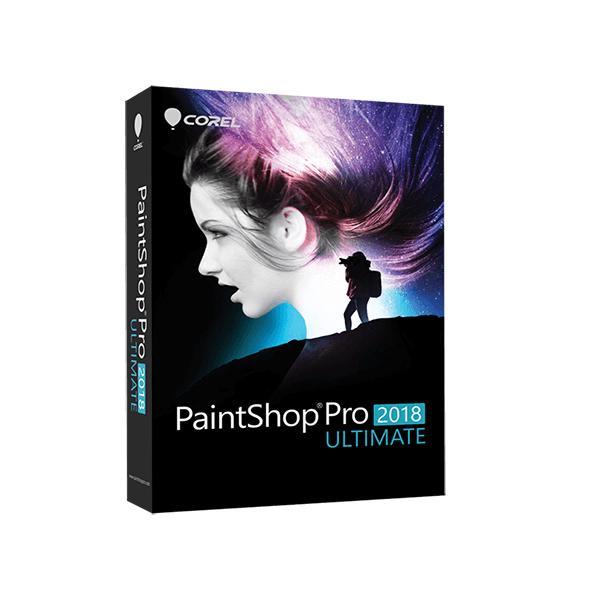 Corel PaintShop Pro 2018 Ultimate 0735163151190 PSP2018ULMLMBEU 10_185F810